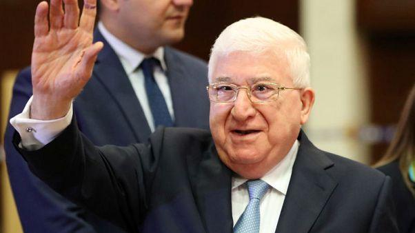 الرئيس العراقي يدعو البرلمان الجديد للانعقاد في 3 سبتمبر