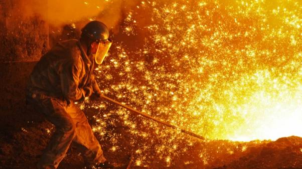 ارتفاع إنتاج الصلب العالمي 5.8% على أساس سنوي في يوليو