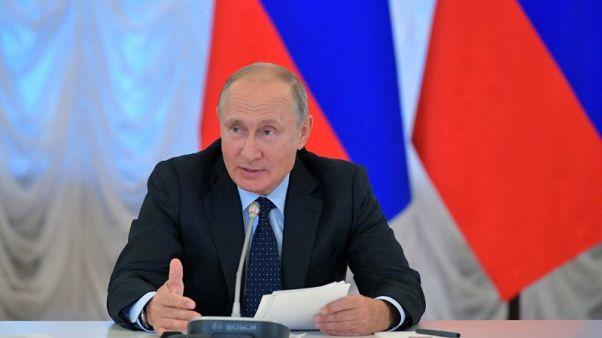 بوتين يحث الشركات الروسية على زيادة صادرات الفحم والطاقة