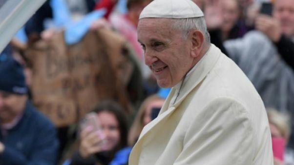 Le pape François en visite à Knock en Irlande, le 26 août 2018