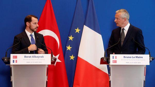 Turkey's Albayrak says U.S. steps against Ankara could destabilise region