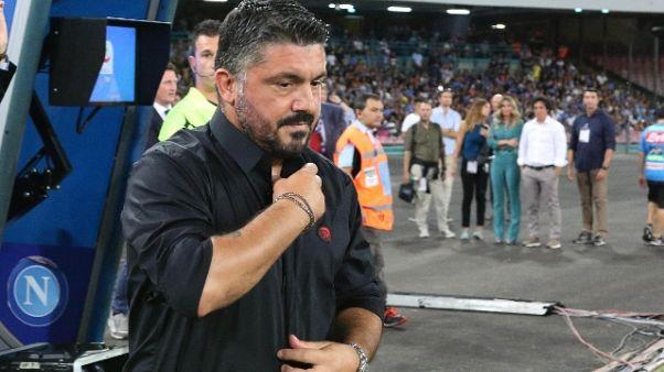 Gattuso, non ripetere errori Napoli