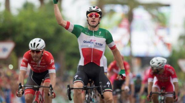 Tour d'Espagne: Viviani au sprint, Kwiatkowski reste en rouge