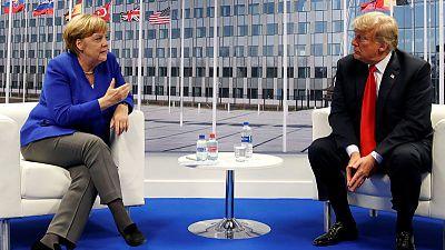Merkel, Trump share concerns about Syrian developments - Merkel's spokesman