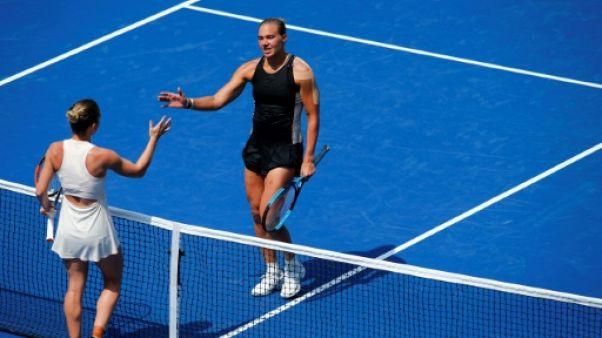 """US Open: bis repetita pour Halep, assommée d'entrée, Serena et """"Rafa"""" sans traîner"""