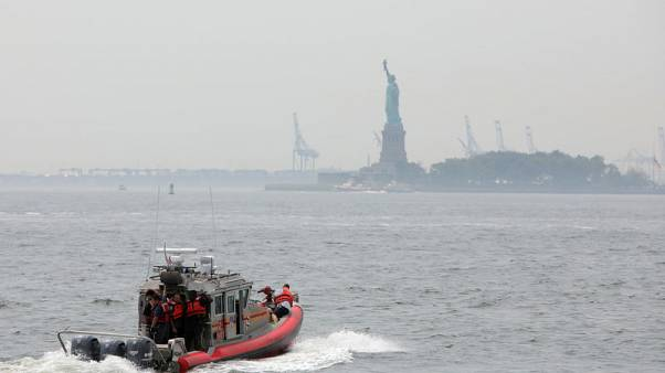 Fire forces evacuation of Statue of Liberty island in NY