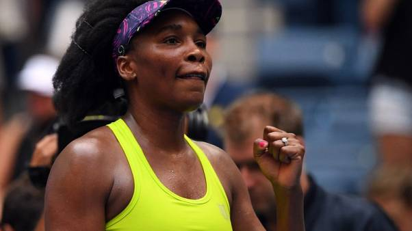 Venus outlasts Kuznetsova in brutal U.S. Open heat