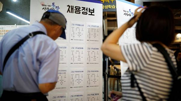 South Korea proposes record budget lifeline for jobs, welfare in 2019