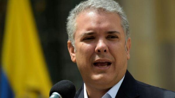 Le président colombien Iván Duque, le 26 août 2018, à Medellin en Colombie