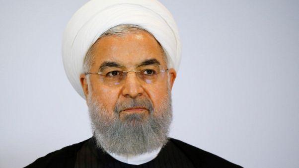 روحاني: المظاهرات ضد الحكومة الإيرانية شجعت ترامب على الانسحاب من الاتفاق النووي