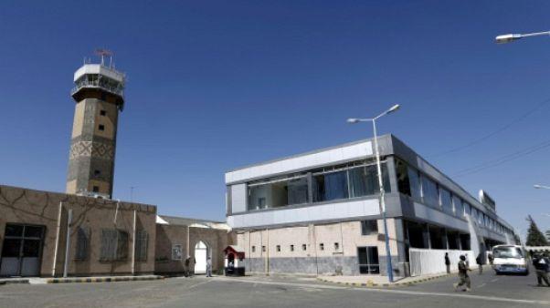 L'aéroport international de Sanaa au Yémen, le 23 novembre 2017