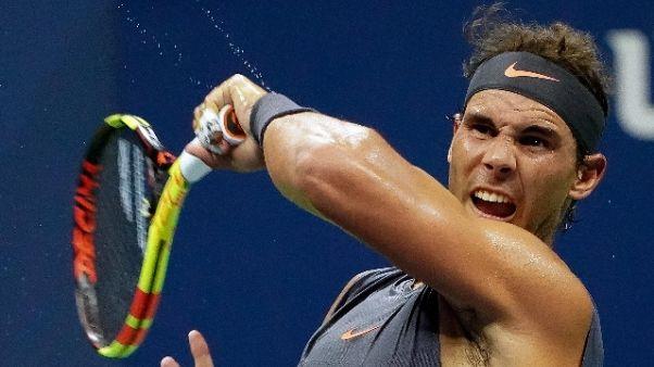 Us Open: ritiro Ferrer,Nadal a 2/o turno