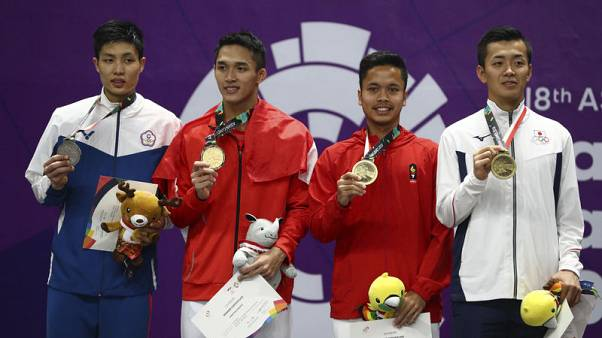 Badminton a smash hit as Indonesia excels at Asian Games