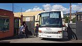 Migranti Diciotti,bus partiti da Messina