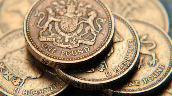 الاسترليني يهبط لأدنى مستوى في نحو عام مقابل اليورو