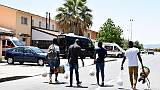 Migranti, richiedenti asilo in piazza