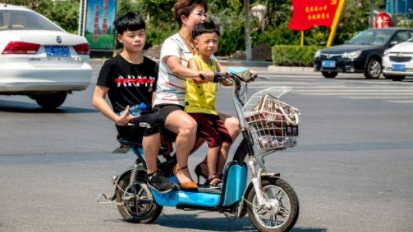 Une famille nombreuse? Pour la plupart des Chinois, c'est non