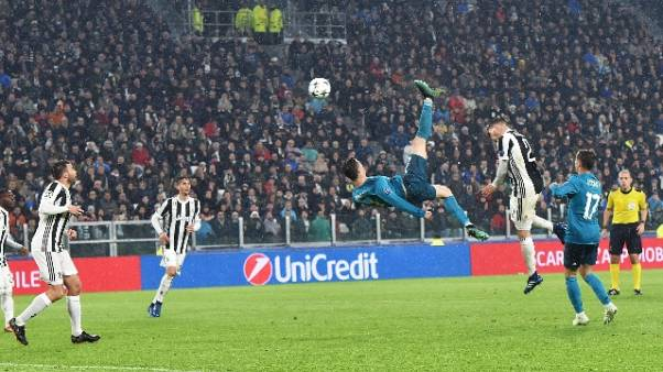 L'Uefa premia la rovesciata di Ronaldo