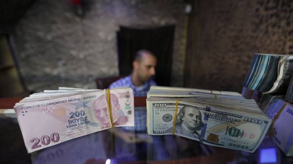 Falling lira hits Syrian enclave backed by Turkey