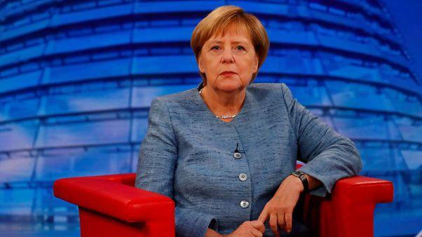 Merkel condemns Chemnitz stabbing and violent protests afterwards