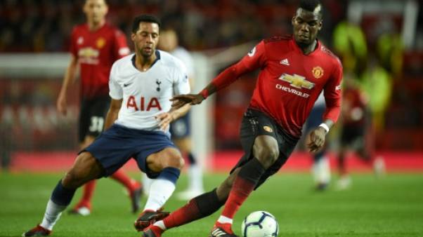 """Angleterre: les joueurs de ManU """"choqués"""" par la défaite face à Tottenham, selon Pogba"""