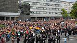 مسؤول: 6000 شاركوا في احتجاجات اليمين المتطرف بولاية ساكسونيا الألمانية