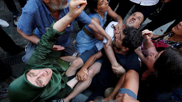Turkey blocks decades-old mothers' vigil as freedoms suffer