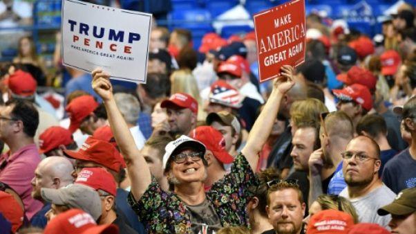 Des supporteurs de Donald Trump en Pennsylvanie le 2 août 2018