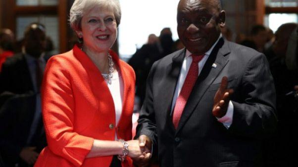 May veut faire du Royaume-Uni post-Brexit un grand investisseur en Afrique