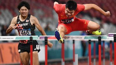 Jeux asiatiques: Xie remporte l'or au 110 m haies, 9e victoire de rang pour la Chine