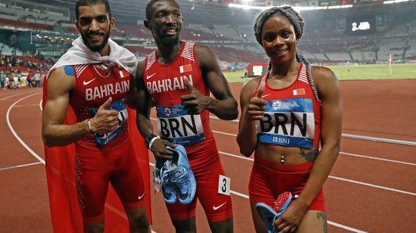 Asian Games - Bahrain grab inaugural 4x400m mixed relay gold as China soar