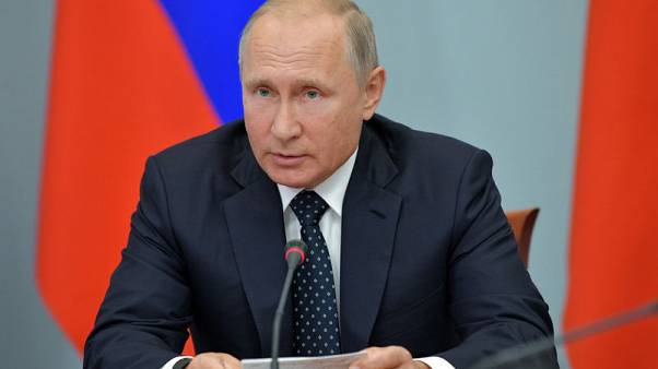 Russia's Putin hints he'll dilute unpopular pension reform