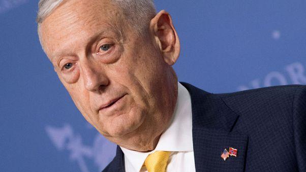 ماتيس: أمريكا تناقش مع روسيا استخدام الأسلحة الكيماوية في سوريا