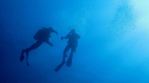 Fa immersione in Mozambico, scomparsa