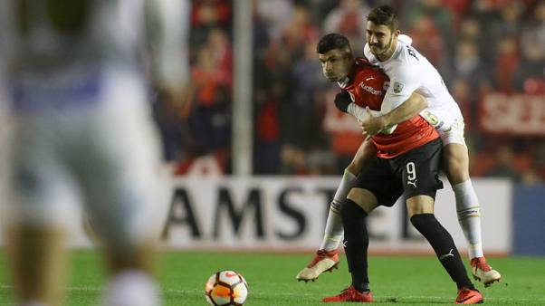 Belated punishment leaves Copa Libertadores tie in disarray