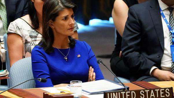 هيلي تشكك في عدد اللاجئين الفلسطينيين