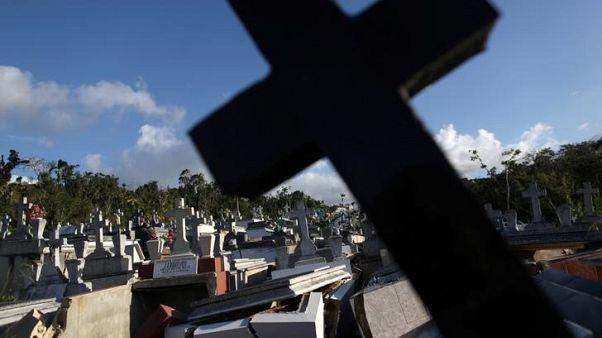 ارتفاع العدد الرسمي لقتلى الإعصار ماريا في بويرتوريكو إلى 2975