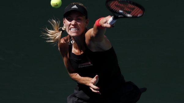كيربر تؤكد تعافيها بالفوز على جاسباريان في الدور الأول لأمريكا المفتوحة