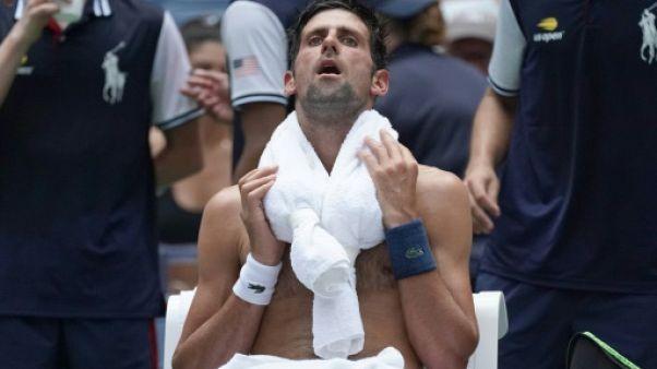 US Open: New York étouffe sous la chaleur humide, au tour de Djokovic et Federer