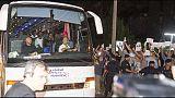 Migranti: arrivato secondo bus Diciotti
