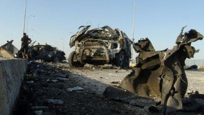 Attentat suicide à la voiture piégée à Ramadi en Irak, le 17 septembre 2014