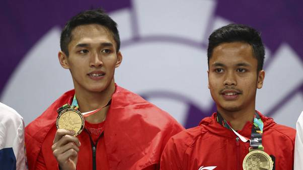 Indonesian medal winners contribute towards Lombok cause
