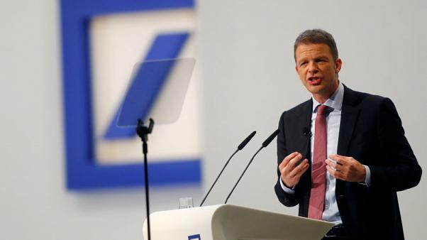 Deutsche Bank CEO stands by global ambitions