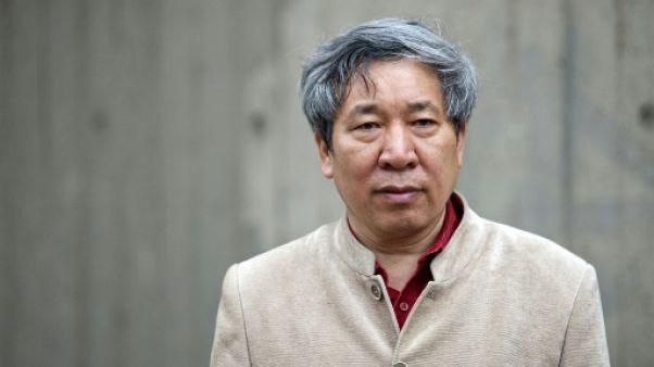 L'écrivain chinois Yan Lianke à Londres, le 20 mai 2013