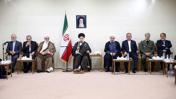 Iran's Khamenei tells Rouhani, ministers, to solve economic problems