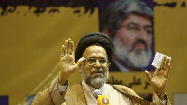 Le ministre du Renseignement, Mahmoud Alavi, le 23 septembre 2016 à Téhéran