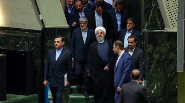 تزايد الضغوط على روحاني مع سعي البرلمان لعزل وزيرين آخرين