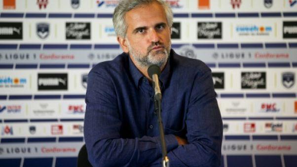 """Bordeaux: """"Le climat d'incertitude autour du club"""" n'a pas aidé pour Henry, dit Stéphane Martin"""