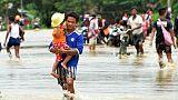 Rupture d'un barrage en Birmanie, des milliers de déplacés