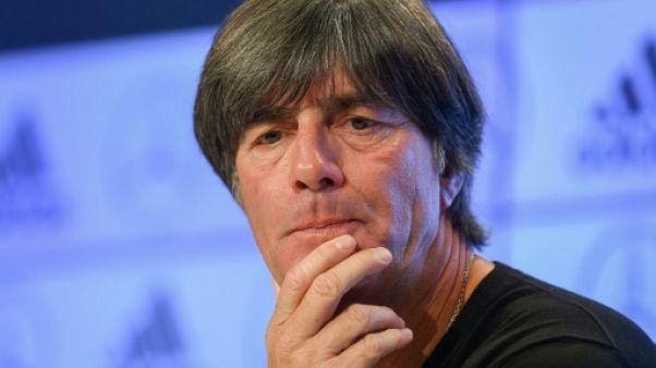 """Löw: """"Il n'y a jamais eu de racisme en équipe d'Allemagne"""""""